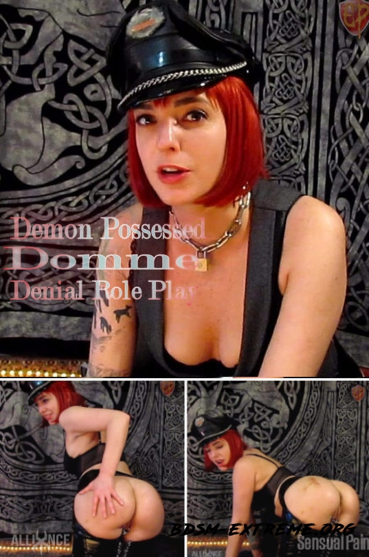 Demon Possessed Domme Denial Role Play With Abigail Dupree (2019/FullHD)