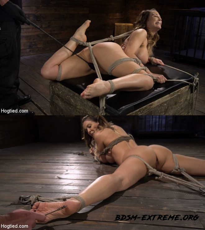Blond MILF Cherie DeVille in Grueling Bondage Made to Endure Torment With Cherie DeVille (2019/HD) [HOGTIED]