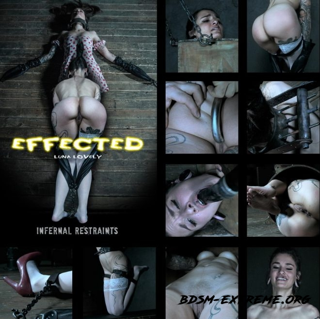 Effected, Luna Lovely gets effected by her predicament. With Luna Lovely (2019/HD) [INFERNAL RESTRAINTS]