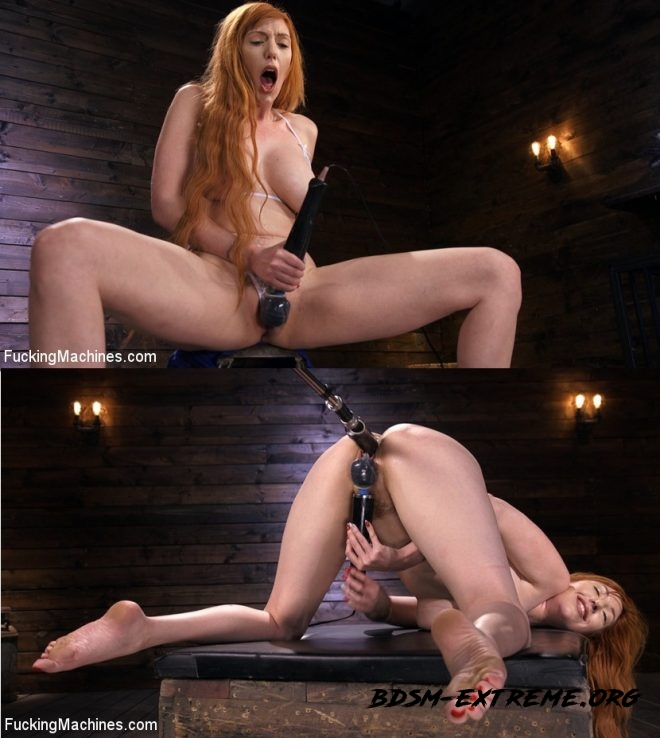 Busty Redhead Lauren Phillips Gets Machine Fucked In The Dungeon With Lauren Phillips (2019/HD) [FUCKING MACHINES]