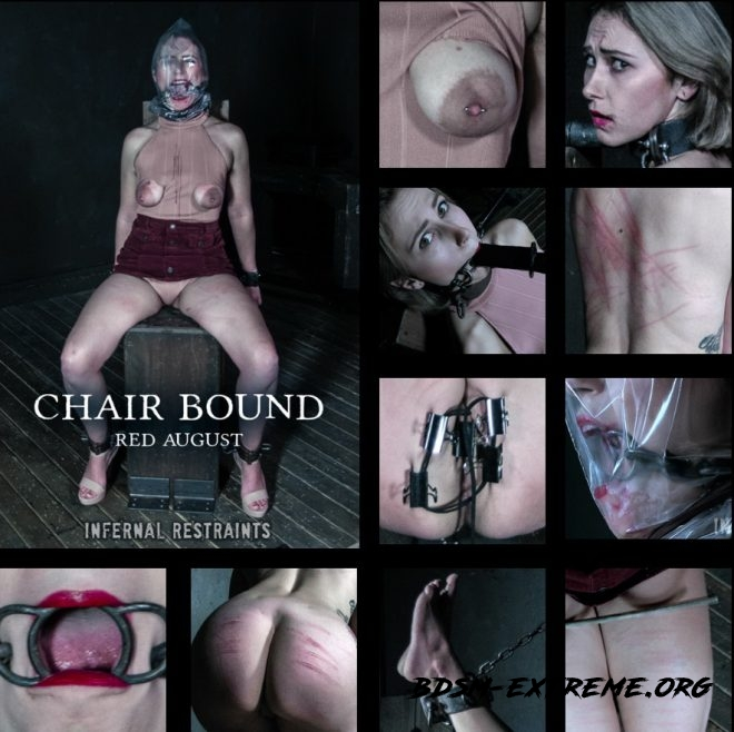 Chair Bound - Red August gets mounted to a chair. With Red August (2019/HD) [INFERNAL RESTRAINTS]