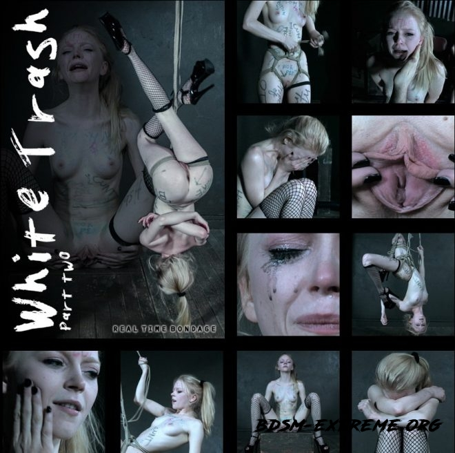 White Trash Part - Alice ties herself up and submits to Truth or Dare. With Alice (2019/HD) [REAL TIME BONDAGE]
