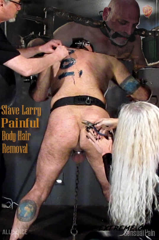 Painful Body Hair Removal (2020/FullHD) [SensualPain]