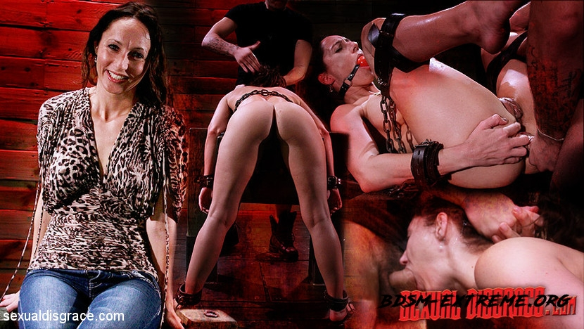 Hard BDSM Sex Bondage, Torture, Humiliation With Fiona Rivers, James Kickstand (2020/HD) [SexualDisgrace]