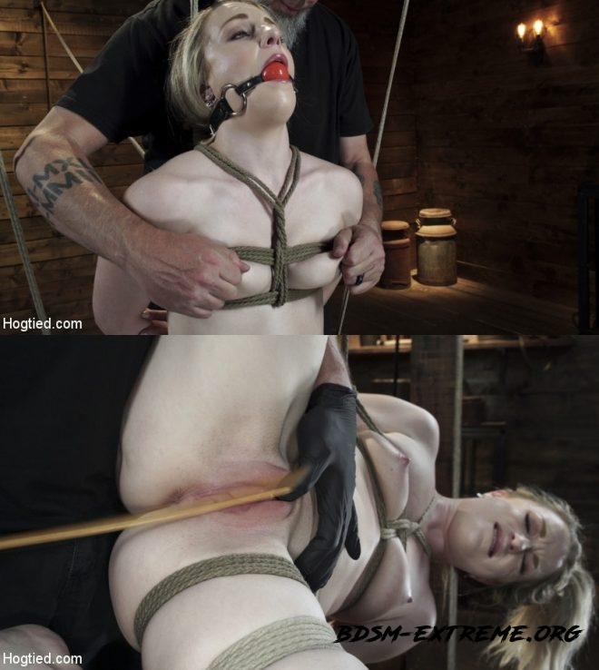 Kate Kennedy is Brutalized in Extreme Bondage and Made to Cum With Kate Kennedy (2019/HD) [HOGTIED]
