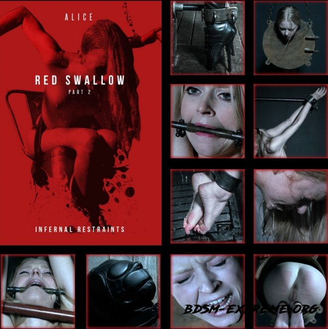 Red Swallow Part 2 - Alice is finally turned into the perfect sexual spy. With Alice (2019/HD) [INFERNAL RESTRAINTS]