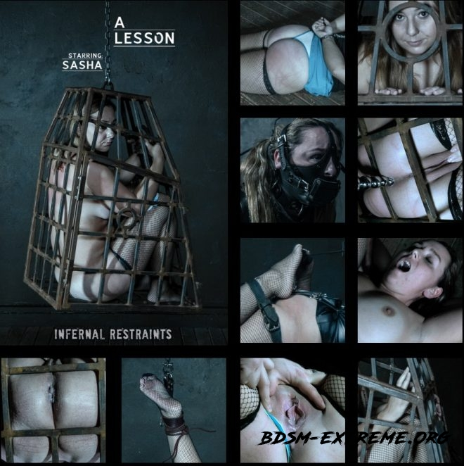 A Lesson - Disobedience is rewarded with torment for Sasha. With Sasha (2019/SD) [INFERNAL RESTRAINTS]