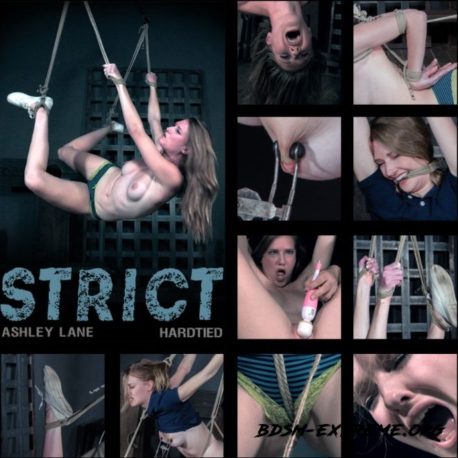 Strict - Ashely endures painful predicament bondage. With Ashley Lane (2019/HD) [HARDTIED]