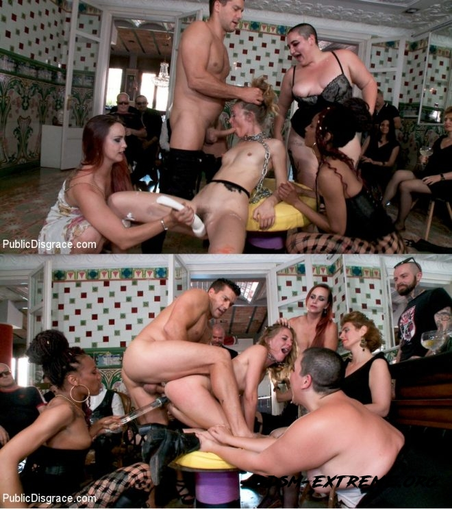 Fancy Party Interrupted To Tame The Feral Princess of Filth! With Ramon Nomar, Nikki Darling, Bella Rossi, Mimosa, Mona Wales (2019/HD) [PUBLIC DISGRACE]