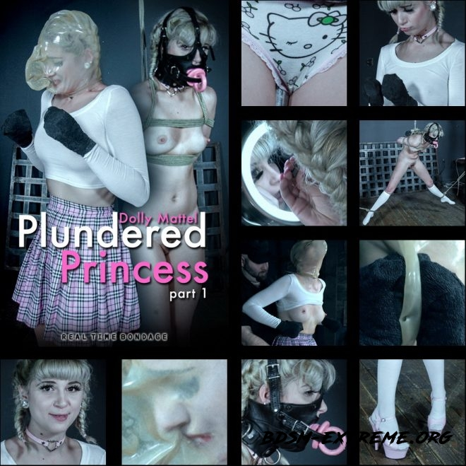 Plundered Princess Part 1 - Dolly Mattel is put through an intense first scene. With Dolly Mattel (2019/HD) [REAL TIME BONDAGE]
