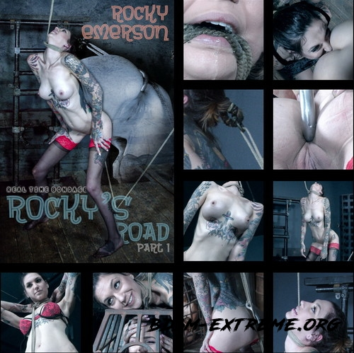Rockys Road Part 1 - Rocky has to squat or choke! With Rocky Emerson (2019/HD) [REAL TIME BONDAGE]