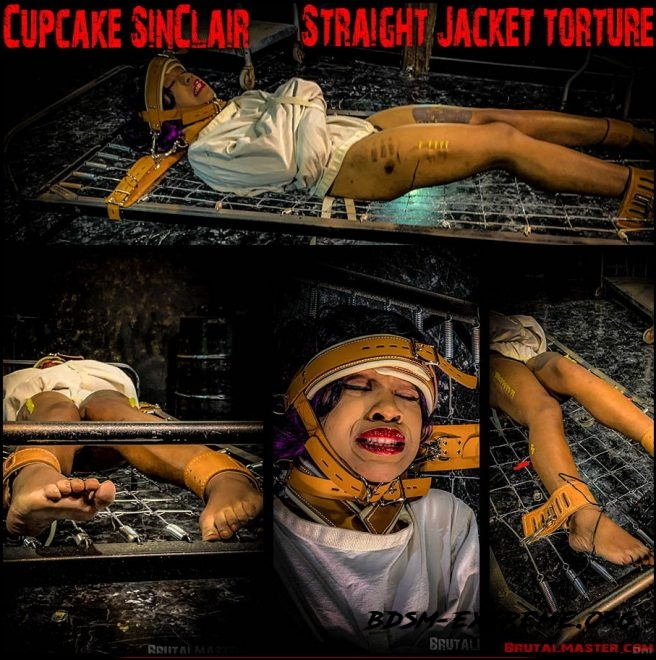 Straight Jacket Torture With Cupcake SinClair (2019/FullHD) [Brutal Master]