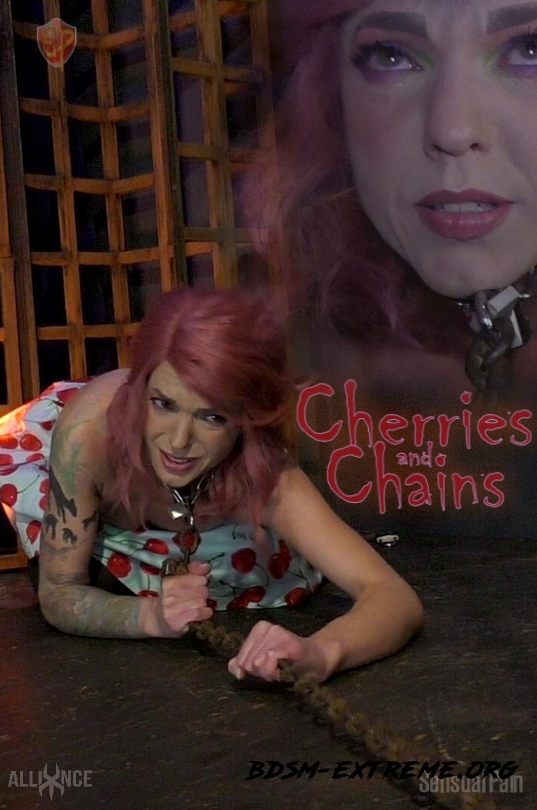 Hard sex BDSM Bloody Scenes With Cherries, Chains (2020/FullHD) [SensualPain]