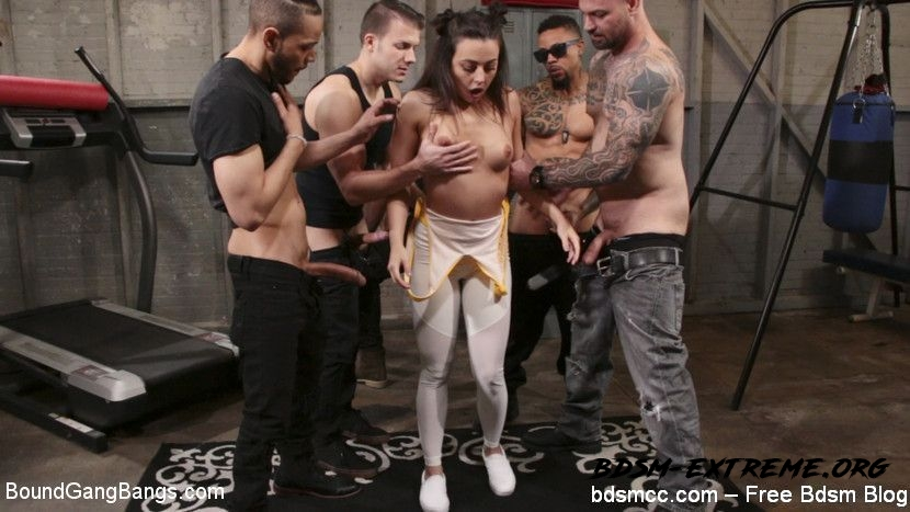Fire scene BDSM Spanking Hard With Cyrus King, Whitney Wright, Eddie Jaye, Cody Steele, Rob Piper, Donny Sins (2020/HD) [BoundGangBangs]