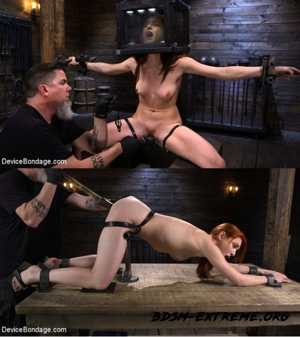Lacy Lennon: Gorgeous Redhead's Sensual Submission With Lacy Lennon (2020/HD) [DEVICE BONDAGE]