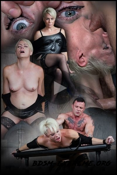 Helena Locke loves being stuffed full of hard cock! Brutal throat fucking, crying and begging With Helena (2020/HD)