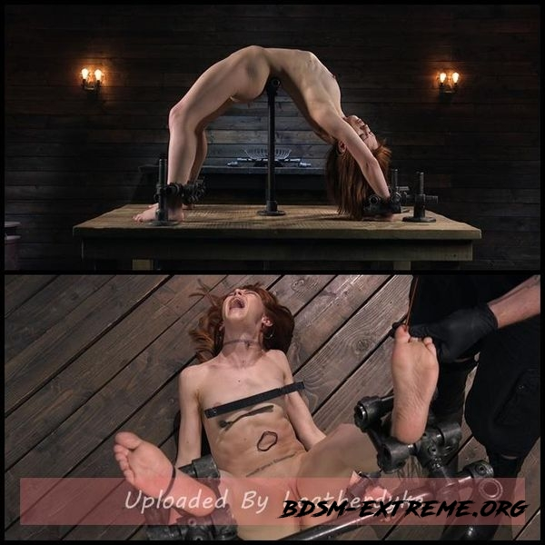 Petite Slave Alexa Nova Locked in Metal Bondage and Tormented Orgasms (2020/HD)