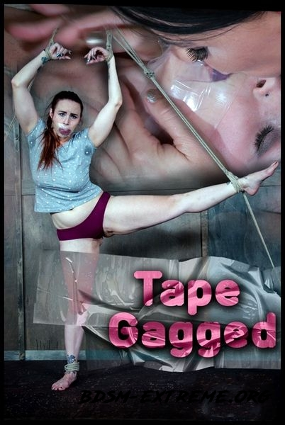 Tape Gagged With Bella Rossi, London River (2016/HD)