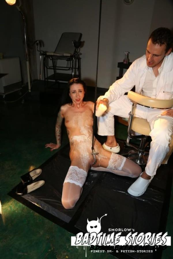 Piss play and BDSM action with German slave Stella Star and doctors PT 2 With Stella Star (2017/FullHD) [PorndoePremium]