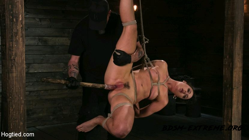 Pain Slut Lilith Luxe Cums Relentlessly from Torment and Rope Bondage! With Lilith Luxe (2017/HD) [HogTied]