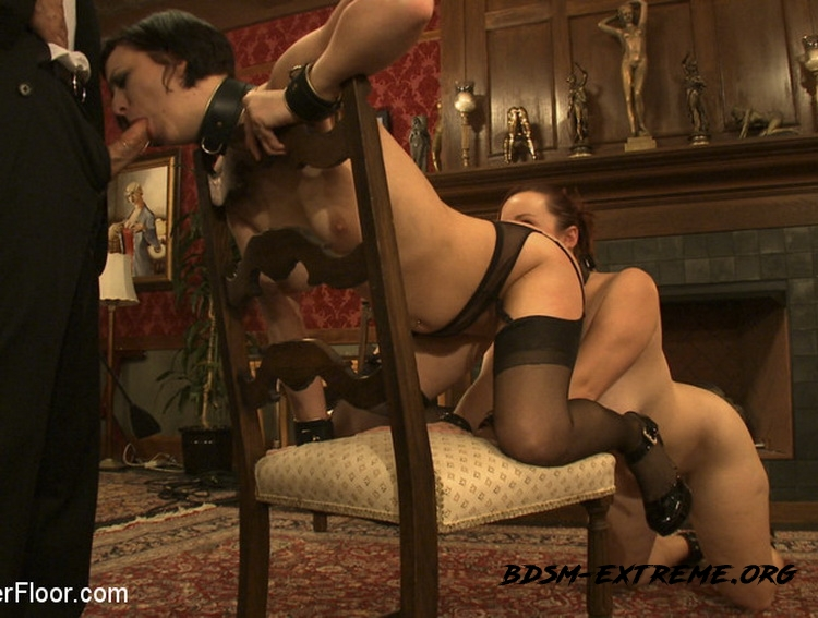 Service Session: Slaves in Bondage With Cherry Torn, Bella Rossi (2010/HD) [TheUpperFloor]