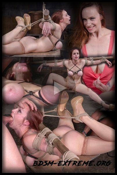 Busty Bella Rossi BaRS show with epic BBC deepthroat, tited tits and strict challenging bondage With Bella Rossi (2020/HD)