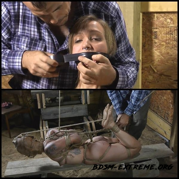 Illustrious Rouge is Welcomed Back with a Tight Crotchrope and a Hooded Hogtie – Part 1-4 (2020/HD)