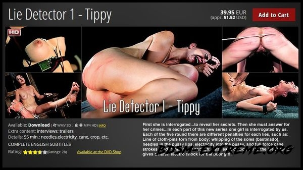 Lie Detector 1 With Tippy (2020/HD)