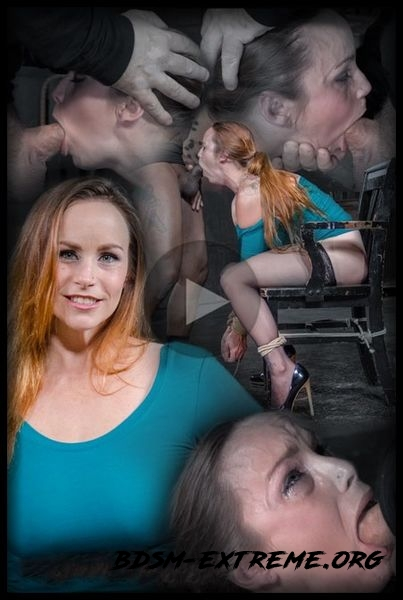 Big breasted Bella Rossi is bound and brutal shackled rough sex deepthroat while vibrated (2020/HD)