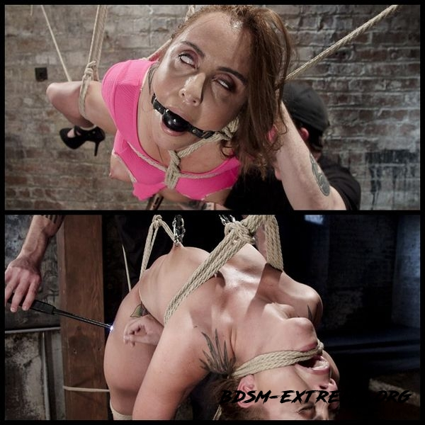 Hot young slut in brutal bondage and suffering – BDSM, Fetish, Bondage (2020/HD)