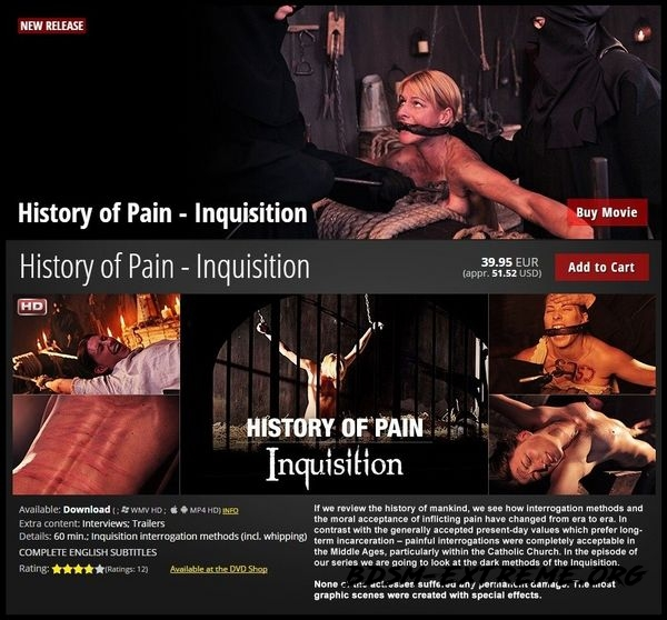 History of Pain With Inquisition (2020/HD)