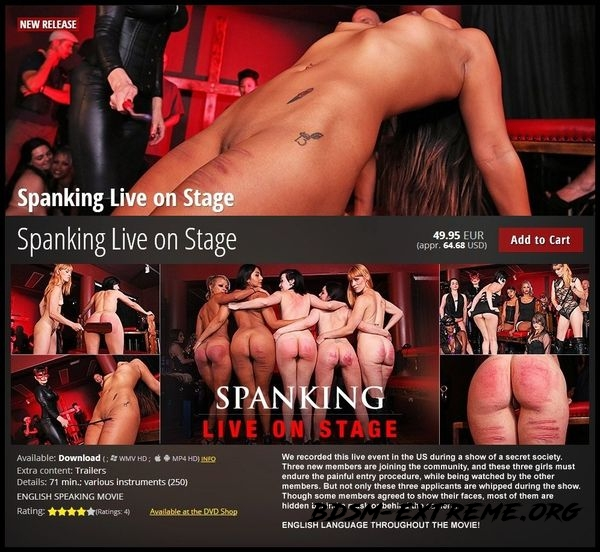 Spanking Live on Stage (2020/HD)