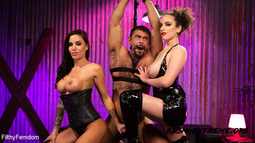 Hard Fucked in the Pussy and Cum in the Mouth With Gia DiMarco, Mistress Blunt, Draven Navarro (2020/HD) [FilthyFemdom]