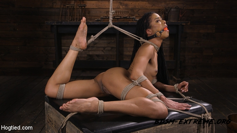 Torture Domination and Incredible pain With Kira Noir (2020/HD) [Hogtied]