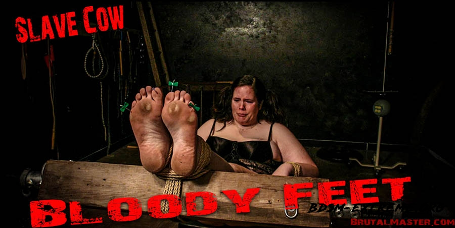 Slave Cow With Bloody Feet (2020/FullHD) [BrutalMaster]