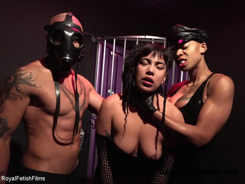 Bdsm Hardcore - Hard Fucking With King Noire, Ashley Paige, Michelle Minx (2020/HD) [RoyalFetishFilms]