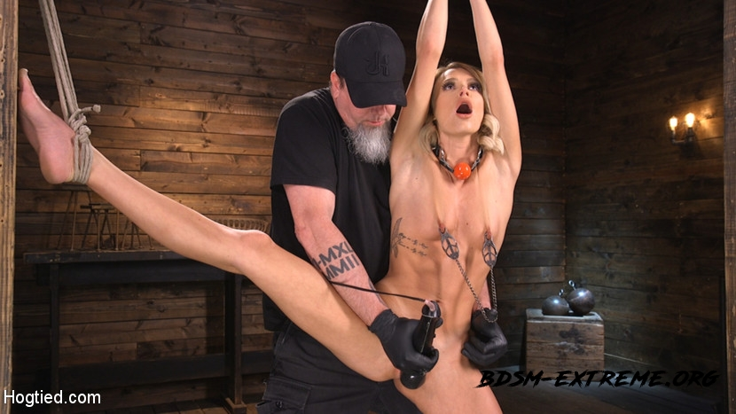 Hard Fucked in the Pussy BDSM With Emma Hix (2020/HD) [Hogtied]