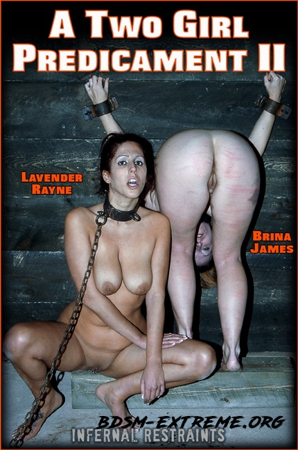 A TWO GIRL PREDICAMENT II With Lavender Rayne (2020/HD) [InfernalRestraints]