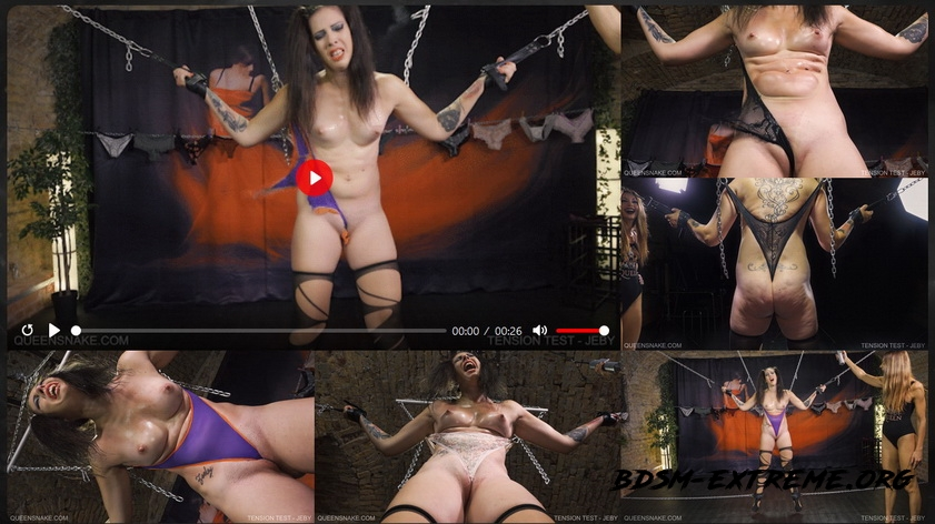 TENSION TEST With JEBY (2020/FullHD) [Queen Snake]